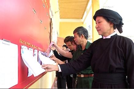 Thái Nguyên: Khu vực miền núi và đồng bào dân tộc thiểu số hướng về ngày bầu cử