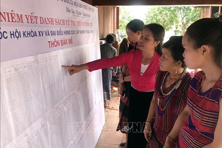 Kon Tum: Tuyên truyền bầu cử đến cộng đồng các dân tộc thiểu số vùng biên giới