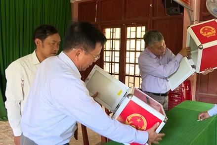 Quảng Ngãi: Đảm bảo tiến độ cuộc bầu cử khu vực miền núi
