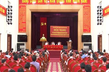 Hà Tĩnh: Hội nghị tiếp xúc đầu tiên giữa cử tri với người ứng cử đại biểu Quốc hội và HĐND