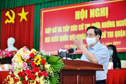 Thủ tướng Phạm Minh Chính tiếp xúc cử tri tại TP. Cần Thơ