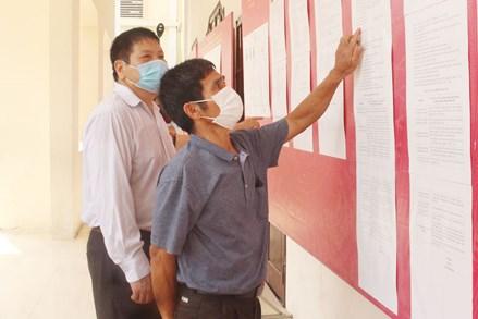 Thị xã Từ Sơn, tỉnh Bắc Ninh: Chuẩn bị phương án đảm bảo an toàn phòng, chống dịch trong ngày bầu cử