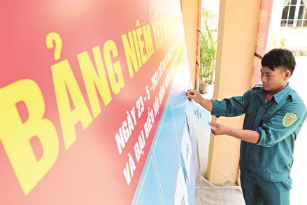 Huyện Nam Giang, Quảng Nam: Sẵn sàng cho ngày bầu cử sớm
