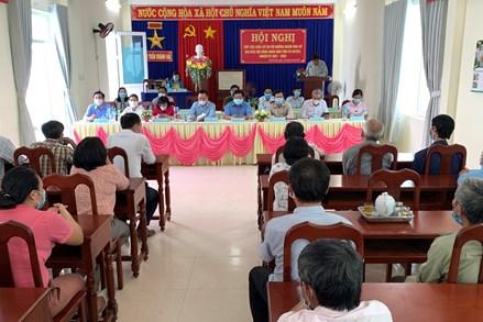 Ninh Thuận: Cử tri có quyền giám sát việc thực hiện chương trình hành động của người ứng cử