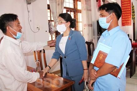 Bình Định: Hoàn thành việc tiếp xúc cử tri để vận động bầu cử