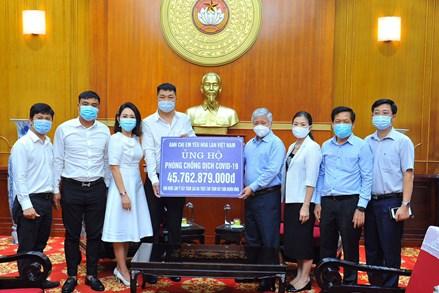 Ngày 27/5: MTTQ Việt Nam phát động đợt cao điểm quyên góp ủng hộ phòng chống dịch Covid-19