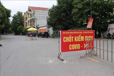 Từ 14 giờ ngày 19/5, cách ly xã hội huyện Yên Phong, Bắc Ninh