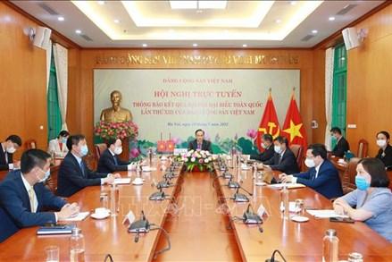 Hội nghị thông báo về kết quả Đại hội Đảng XIII tới Đảng Nhân dân Campuchia