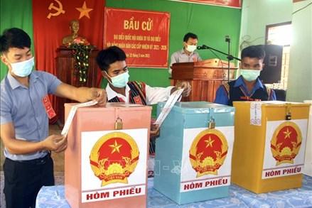Bầu cử sớm ở 3 xã vùng cao của tỉnh Bình Định