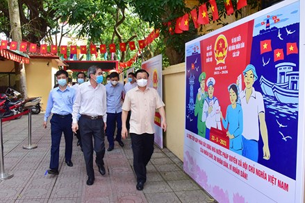Hà Nội đã bảo đảm mọi điều kiện sẵn sàng cho cuộc bầu cử