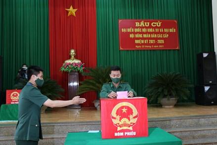 Đắk Nông: Bộ đội biên phòng đảm bảo an toàn khi tham gia bầu cử