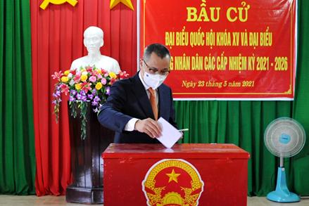 Phú Yên: Tưng bừng ngày hội bầu cử