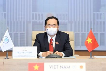Phó Chủ tịch Thường trực Quốc hội Trần Thanh Mẫn dự phiên họp Hội đồng điều hành IPU