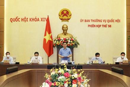 Khai mạc Phiên họp thứ 56 Ủy ban Thường vụ của Quốc hội