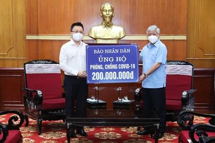 Mỗi người giúp cho một người thì Việt Nam sẽ đủ vaccine phòng dịch Covid-19