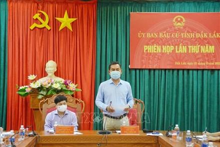 Bầu cử lại đại biểu HĐND xã tại 3 đơn vị bầu cử của tỉnh Đắk Lắk