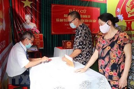 Bầu cử QH và HĐND: 18 đơn vị bầu cử tại Nam Định tổ chức bầu cử thêm