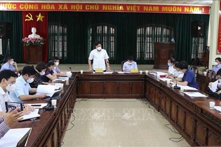 Bàn giải pháp khẩn cấp dập dịch tại huyện Quế Võ, Bắc Ninh
