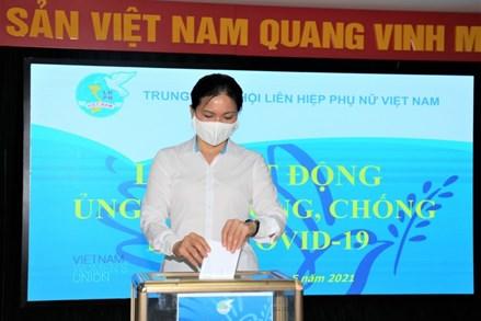 Trung ương Hội LHPN Việt Nam phát động ủng hộ phòng, chống dịch Covid-19