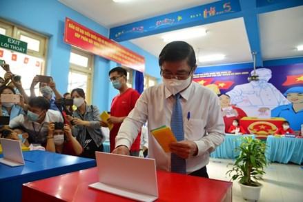 94 người trúng cử đại biểu Hội đồng Nhân dân TP Hồ Chí Minh nhiệm kỳ 2021-2026
