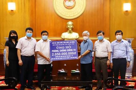 MTTQ Việt Nam phân bổ kịp thời mọi nguồn lực tiếp nhận ủng hộ