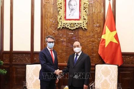 Chủ tịch nước Nguyễn Xuân Phúc tiếp Đại sứ Liên minh châu Âu tại Việt Nam