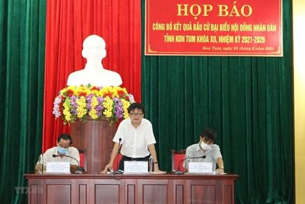 Kon Tum, Bắc Kạn, Hòa Bình: Thông báo kết quả bầu cử