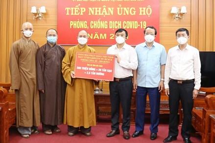 GHPGVN chung tay cùng Bắc Giang và Bắc Ninh chống Covid-19