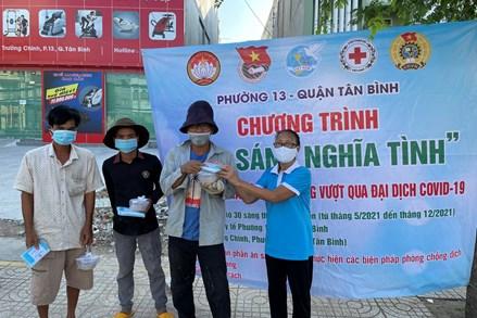 Những tấm lòng và nghĩa cử cao đẹp trong mùa dịch tại TP Hồ Chí Minh