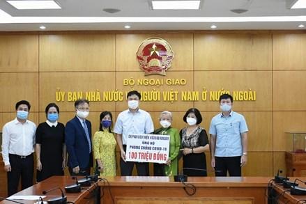 Việt kiều Hungary ủng hộ công tác phòng chống dịch Covid-19 ở quê nhà