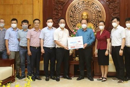 Bắc Giang: Tiếp nhận ủng hộ thực phẩm, kinh phí phòng, chống dịch COVID-19