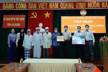 An Giang, Thừa Thiên - Huế, Quảng Ngãi, Quảng Ninh: Tiếp nhận ủng hộ phòng, chống dịch COVID-19