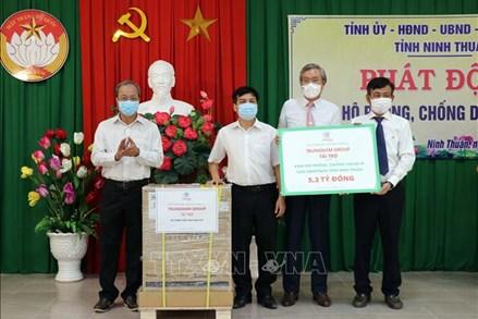 Ninh Thuận, Cà Mau, An Giang: Thêm nhiều nguồn lực chung tay ủng hộ phòng, chống dịch