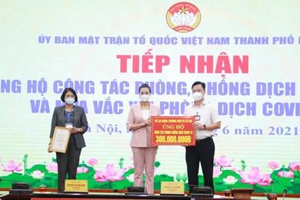 Hà Nội tiếp nhận hơn 2 tỷ đồng ủng hộ phòng, chống dịch Covid-19