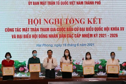 MTTQ thành phố Hải Phòng: Linh hoạt, sáng tạo, hoàn thành từng bước quan trọng trong quá trình bầu cử