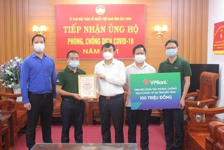 Bắc Ninh: Trên 191 tỷ đồng ủng hộ công tác phòng, chống dịch COVID-19