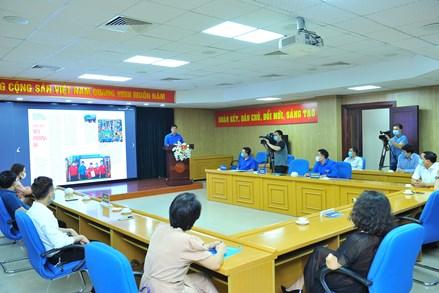 """Trung ương Đoàn ra mắt bản tin tình nguyện và phát động cuộc thi ảnh """"Sắc xanh tình nguyện 2021"""""""