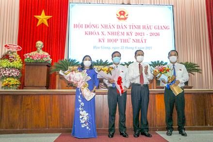 Phó Chủ tịch Thường trực Quốc hội Trần Thanh Mẫn dự Kỳ họp thứ Nhất, HĐND tỉnh Hậu Giang Khóa X