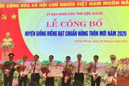 Huyện nhiều xã nhất tỉnh Kiên Giang tiến lên nông thôn mới