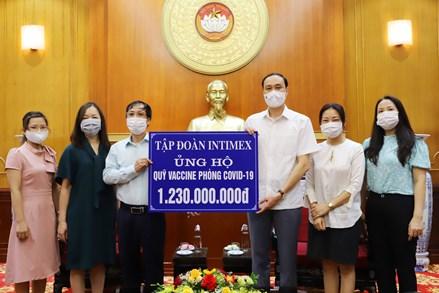UBTƯ MTTQ Việt Nam phân bổ 1.016 tỷ đồng tới Quỹ vaccine phòng Covid-19