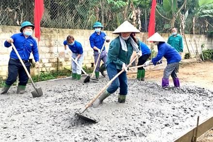 Sơn Dương chung tay xây dựng nông thôn mới