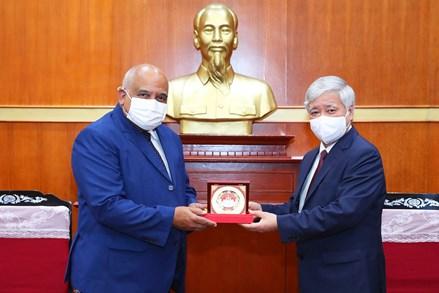 Vun đắp mối quan hệ hữu nghị hai nước Việt Nam - Cuba