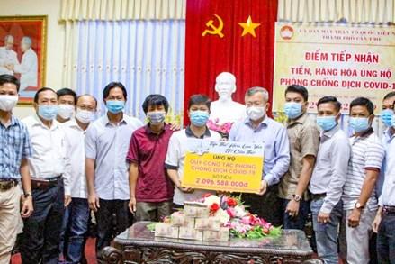 MTTQ Việt Nam thành phố Cần Thơ tuyên truyền, vận động nhân dân cùng chung sức đẩy lùi dịch bệnh
