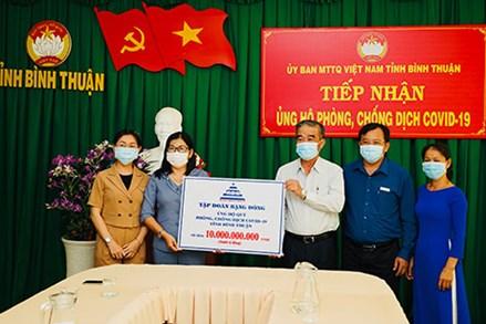 Bình Thuận: Những tấm gương giữa đời thường góp sức ủng hộ phòng, chống dịch