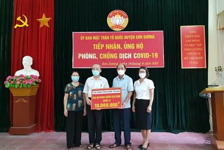 Tuyên Quang: Lan tỏa những tấm lòng nhân ái trong ủng hộ phòng, chống dịch