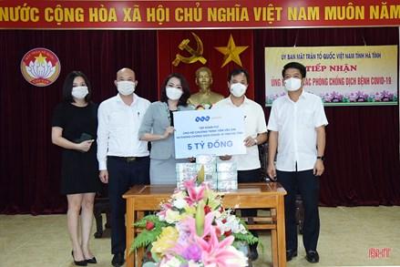 Hà Tĩnh: Hơn 44 tỷ đồng ủng hộ và đăng ký ủng hộ phòng chống dịch Covid-19