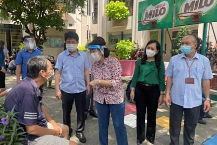 Thành phố Hồ Chí Minh: Kiểm tra việc lãnh đạo, chỉ đạo phòng chống dịch trên địa bàn quận Phú Nhuận