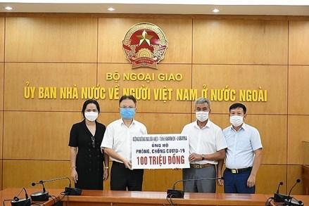 Người Việt tại Kharkov (Ukraine) ủng hộ công tác phòng chống Covid-19 trong nước