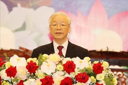 Tổng Bí thư Nguyễn Phú Trọng: Vun đắp quan hệ đặc biệt Việt Nam - Lào ngày càng phát triển mạnh mẽ