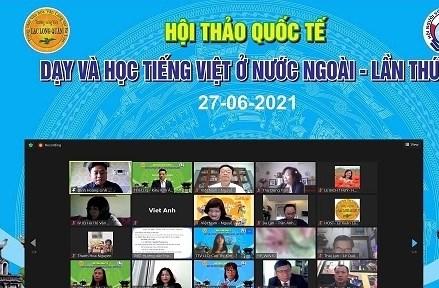 Hội thảo trực tuyến 'Dạy và học tiếng Việt ở nước ngoài'